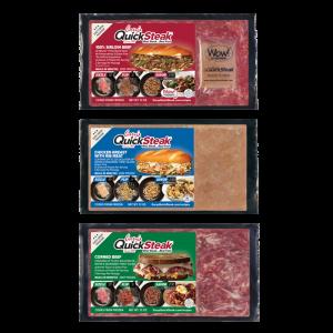 Gary's QuickSteak Sirloin Beef, Chicken, and Corned Beef