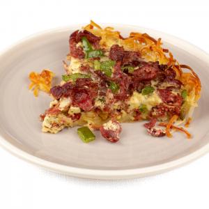 Corned Beef Breakfast Pie