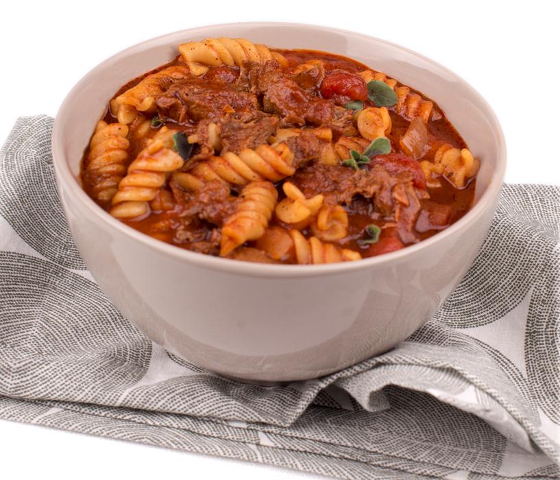 Beef and Pasta Chili
