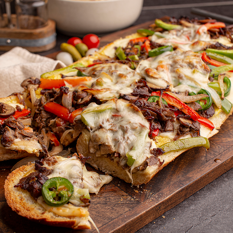 Philly Cheesesteak Party Bread