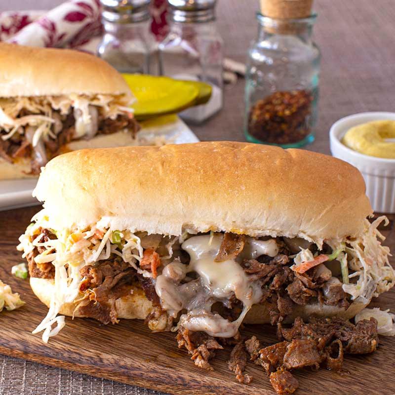Cajun Beef Sandwich