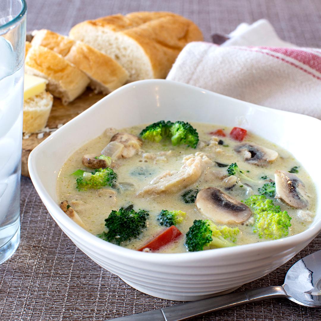 Chicken Broccoli Soup