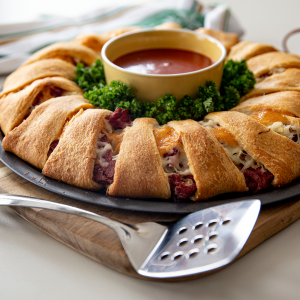 Corned Beef Crescent Ring